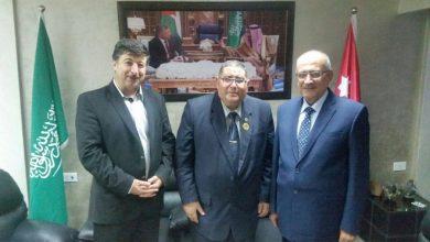 Photo of الأردن: الأمين العام لحزب المحافظين يلتقيرئيس إتحاد الوطن العربي الدولي لمناقشة سبل تدعيم العمل العربي المشترك