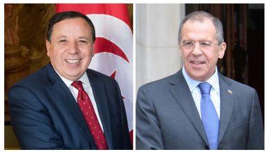 Photo of وزير الخارجية الروسي يؤدي زيارة رسمية إلى تونس