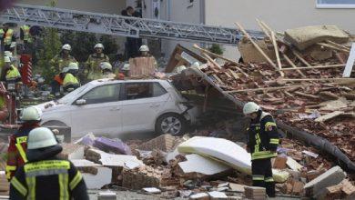 Photo of بافاريا الألمانية:إنفجار مبنى وفقدان 3 أشخاص