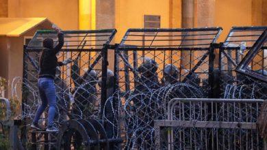 Photo of لبنان: مواجهات عنيفة بين قوات الأمن والمحتجين في بيروت